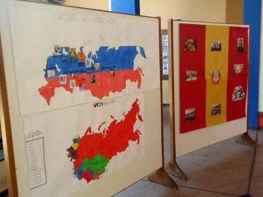 Exposição sobre a Rússia