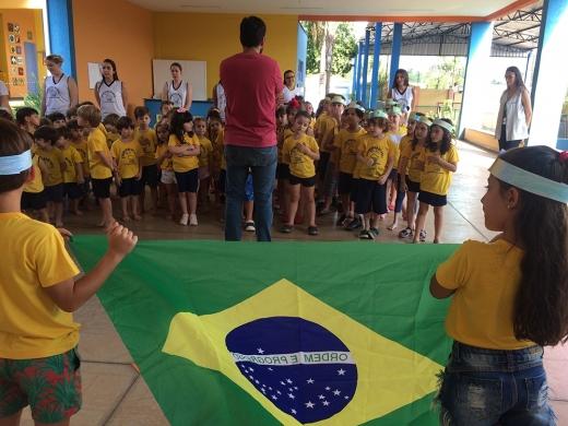 Comemoração ao dia da Independência do Brasil