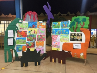Exposição dos projetos realizados pelos alunos da Educação Infantil - 2019